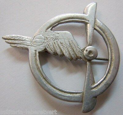 Insigne WWI BREVET PERSONNEL NAVIGANT 1914/1918 ORIGINAL WING Aviation Air PILOT