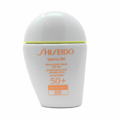 Shiseido Sport Bb Cream Broad Sport Specturm Spf 50+ Wetforce New In Box