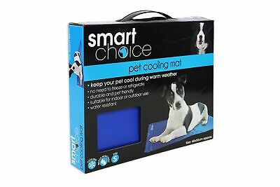 Small Pet Cooling Vest & Cool Mat Pad Durable Keep Cool Set Adjustable Straps