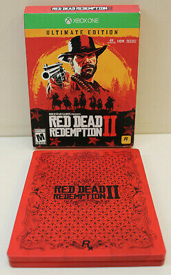 Red Dead Redemption II Ultimate Steelbook Edition - Fast Free Shipping!