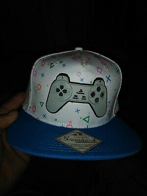 check out 94074 efde1 Sony Playstation EST 1994 Logo WHITE Snapback Hat Cap Official PS1 Controller  PS