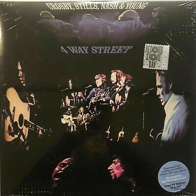 CROSBY, STILLS, NASH & YOUNG - 4 Way Street (expanded) (Rsd 2019) 3 LP