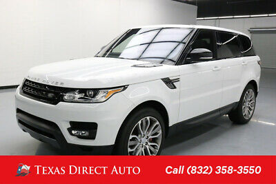 2016 Land Rover Range Rover Sport AWD Supercharged 4dr SUV Texas Direct Auto 2016 AWD Supercharged 4dr SUV Used 5L V8 32V Automatic 4WD SUV