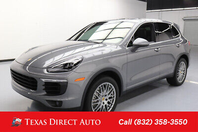 2018 Porsche Cayenne S Texas Direct Auto 2018 S Used Turbo 3.6L V6 24V Automatic AWD SUV Premium Bose