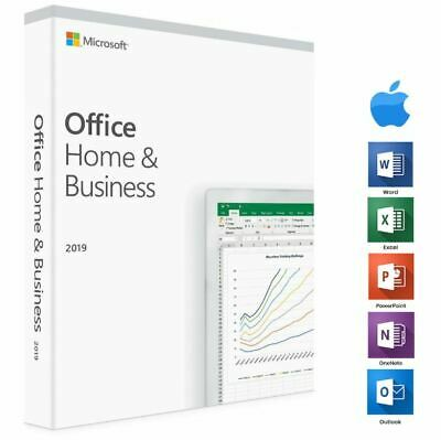 Microsoft Office Home and Business 2019 Mac  ⭐ 100% Genuine-Lifetime updade