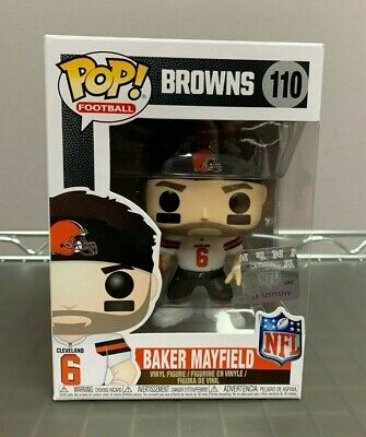 12014db7e Football  110 Baker Mayfield Rookie Bobblehead Funko Shop Exclusive