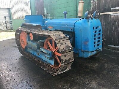 Fordson Major County Crawler Tractor Working Good Order