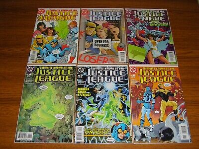 Formerly Known As The Justice League #1 - 6 Set (Dc) 2003 (6 Issues)