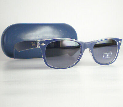 4cbbf2867ba9e Ray Ban New Wayfarer Sunglasses RB 2132 blue square Italy color mix gradient