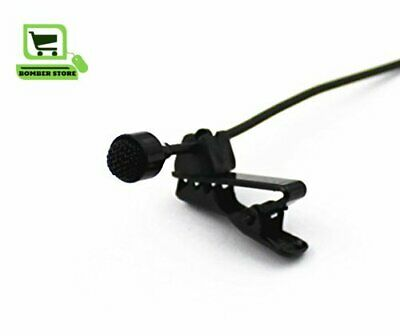 Lavalier Lapel Clip On Omni-Directional Condenser Microphone Computer Voip Skype