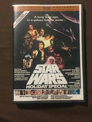 Star Wars Holiday Special 1978 Unreleased DVD. Fast Shipping! Christmas!