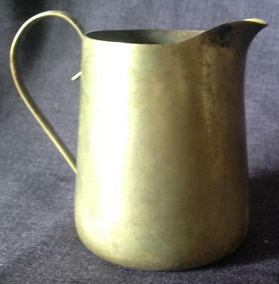Petite EPNS Silverplate antique stylish cream jug BSC Barbour Silver Co.American