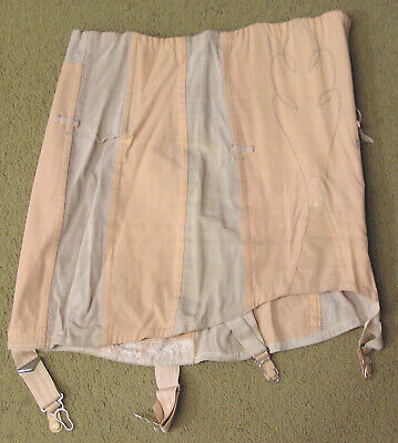 Vintage NEMO Labeled Girdle Pink 1970s