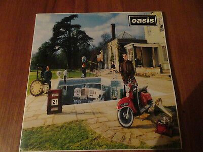 Oasis - Be Here Now Vinyl LP Creation Records CRELP 219 pressing 1997 Superb