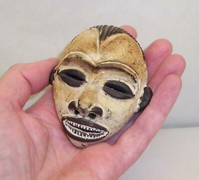 Vintage/Antique MINIATURE Clay/Terracotta FACE MASK African/Tribal ESTATE FIND