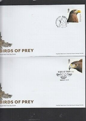 GB 2019 Birds of Prey single eagle stamp choice FDC