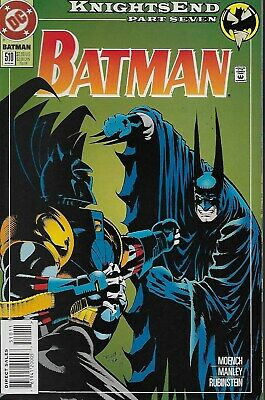 Batman (Vol.1) No.510 / 1994 Knightsend Part Seven / Doug Moench & Mike Manley