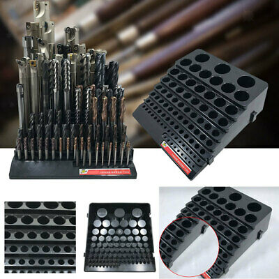 New High Quality DRILL BIT STAND HOLDER for 3mm~32mm BITS 85 Holes Storage