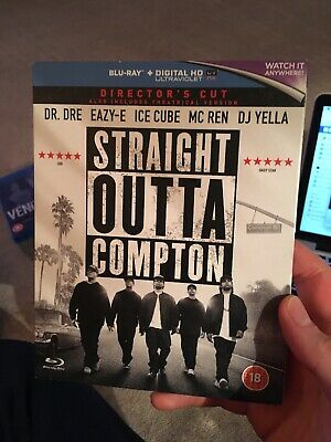 Blu Ray - Straight Outta Compton (Easy E, Ice Cube, Dr Dre)