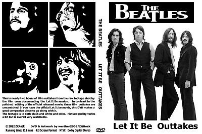The Beatles Let It Be Outtakes DVD