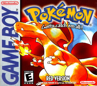 Pokemon Red Nintendo Game Boy