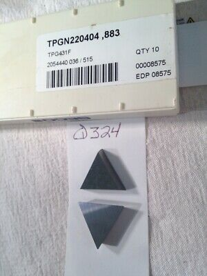 5 Carbaloy TPG 321 F 883 Carbide Inserts
