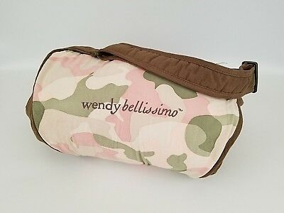 Wendy Bellissimo Shopping Cart Cover Pink Camo Camouflage BABY GIRL