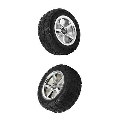 12mm Hub Wheel Rubber Tire Tyre for 1:12 RC Racing Car Right&Left