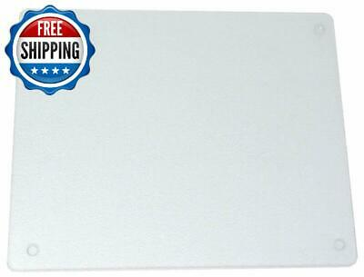 Durable Surface Saver Vance 20X16 Inch Clear Tempered Glass Cutting Board 82016C