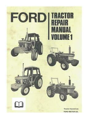 Ford 10 series  Dealers Workshop Manual Printed