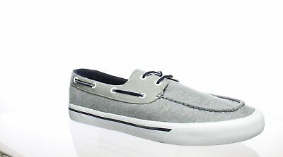 67a3dee71 TOMMY HILFIGER MENS Pharis Grey Boat Shoes Size 11.5 (272944 ...