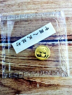 1g Gold 2017 Chinese Panda Coin 1 gram 999 fine gold Free Delivery