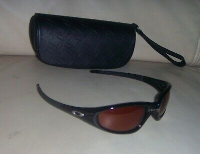 d73bcef145 VINTAGE OAKLEY STRAIGHT JACKET Black Sunglasses - MADE IN USA ...