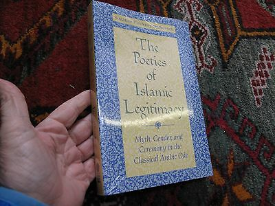 Middle East Religion Literature Poetry Poetics Islamic Legitimacy Arabic Myth