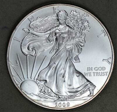 2009 American Eagle Uncirculated Silver Dollar - 1 Troy Ounce