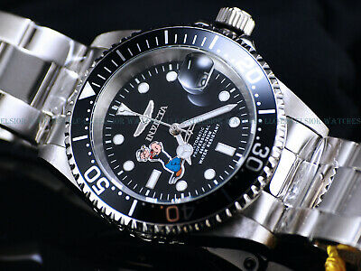 NEW Invicta Mens 40mm Limited Edition Pro Diver POPEYE Automatic Black SS Watch