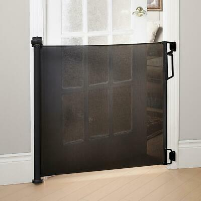 Bily Retractable Safety Gate - Black