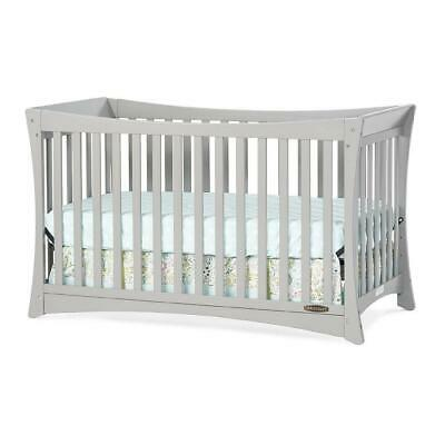 Child Craft Parisian 3-in-1 Convertible Crib - Cool Gray