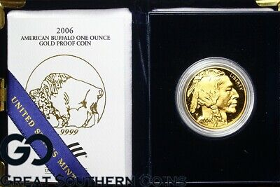 2006-W $50 American Gold Buffalo PROOF, Gold Eagle, 1oz .9999 FINE Gold, OGP!