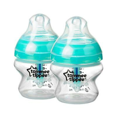 Tommee Tippee Advanced Anti-Colic 2-Pack Bottle, 5 oz.