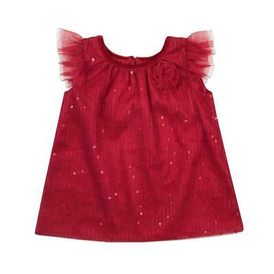 Holiday Dress - Red, 12 Months
