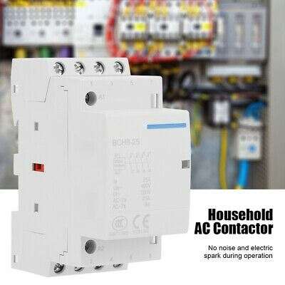 HOUSEHOLD AC CONTACTOR 25A/32A 24V/230V 4 Pole Circuit Control DIN on single pole switch wiring diagram, 4 pole trailer wiring diagram, 4 pole switch diagram, 4-pole motor wiring, hvac fan relay wiring diagram, 3 phase delta motor wiring diagram, 2 pole motor wiring diagram, single pole contactor diagram, 2 speed motor wiring diagram, solid state contactor wire diagram, single phase reversing contactor diagram, lighting contactor diagram, power pole wiring diagram, star delta motor starter wiring diagram, magnetic motor starter wiring diagram, 220v gfci breaker wiring diagram, 4-way switch wiring diagram,