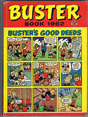 Rare Buster Book 1962 (First One) Whoopee, Monster Fun, Cor Intrest