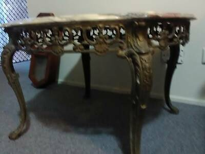 Carrara French Marble Antique Table