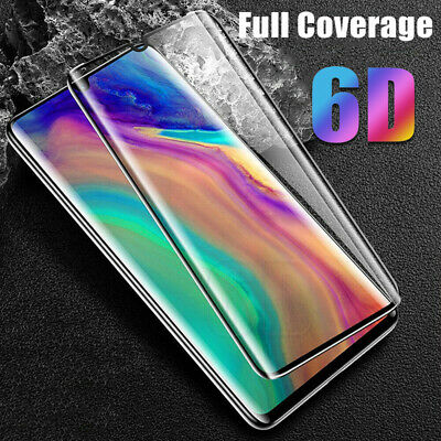6D Full Tempered Glass Screen Protector Cover For Huawei P30 P20 Pro Lite Mate20