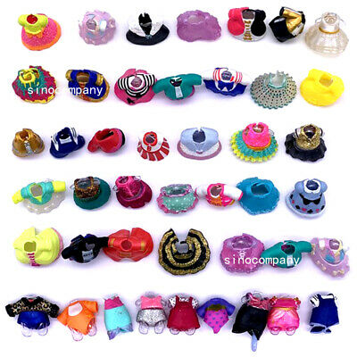 Lot 10X LOL Surprise Genuine Outfit dolls Dresses clothes accessories toys gifts