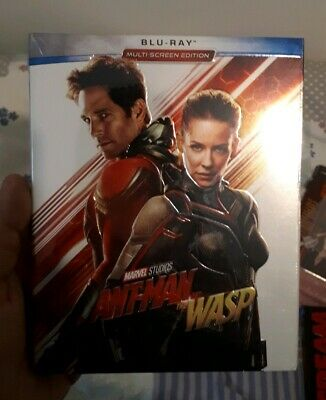 Blu Ray Ant Man And The Wasp - WITH SLIPCOVER - New Sealed - Marvel Avengers