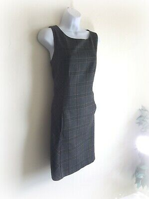 Vintage Laura Ashley Tartan Pinafore Dress