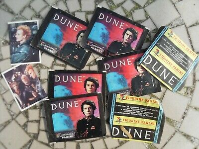 Dune Panini trading cards some  unopened 1984