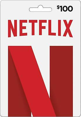 CHEAP 100$ NETFLIX eCard - Giftcard - INSTANT DELIVERY - US - WORKLING WORLDWIDE